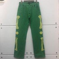 Broderie os d'arrivée Kapital Jeans Hommes Femmes de haute qualité Denim Pants Cargo Hommes
