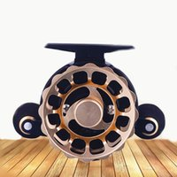 High Quality Raft Fishing Reels Metal Spool Spinning Reel Drag Power Left Right Hand Wheel For Catching Fish Baitcasting