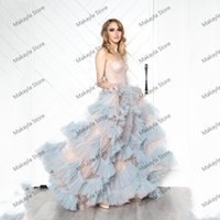 Party Dresses Fashion Elegant Prom Strapless Sleeveless Ruffles Tulle A-Line Women Long Evening Homecoming Gowns Custom Made