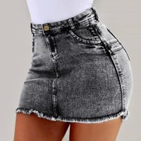 Venta de liquidación Estilo retro Lady Girls Denim Cintura alta Brida Blue Jean Shorts Pantalones S M L XL Jeans para mujer