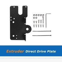 All Metal Direct Drive Extruder Mount Fix Plate For E3D Hemera CR-10 CR10S ENDER-3 ENDER3 PRO V2 3D Printer Parts