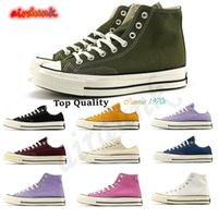Converses  TOP Quality Classic Canvas 1970 Casual Shoes Platform full High reconstruction Big SLAM confiture triple Black and White High and Low Men and Women Athletic stars shoes