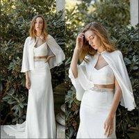 Wraps & Jackets MYYBLE Chiffon Short Women Bridal Boleros Shawls Plus Size Capes Wedding Formal Customer Made