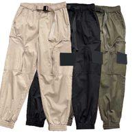 Homens, cargo, calças, menino, casual, moda, calças, homem, pista, calça, estilo, enxada, vender camuflagem