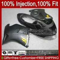 Injection Mold For HONDA CBR1100XX Blackbird 1996 1997 1998 1999 2000 2001 Body 26No.98 CBR1100 CBR 1100 XX CC 1100XX 1100CC 02 03 04 05 06 07 Flat black OEM Fairing