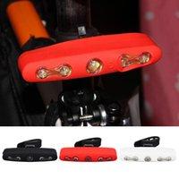 자전거 조명 사이클링 Tillight 5LED 조립 USB 플라스틱 산 경고등 3 색상 스포츠 스트리트 파크 여행
