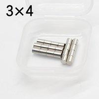 50 ADET Belki Set 3x4 Yuvarlak NDFEB Neodim Magnet N35 Süper Güçlü Küçük Imanes Kalıcı Manyetik Disk