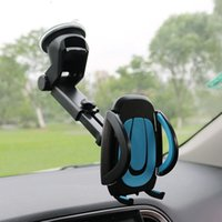 JEREFISH Car Holder Gps Accessories Suction Cup Auto Dashboard Windshield Mobile Cell Phone Retractable Mount Stand