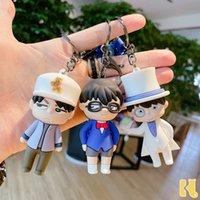 Мультфильм детектив Conan Keychain Creative Прекрасная пара маленькая подарочная сумка автомобильная кукла куклы