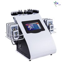 2021 8 pads RF Vacuum Cavitation Lipo 6 in 1 Laser 40K Slimming Fat Reduce System Machine For Home Use