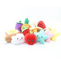 Suono banana anguria ravanello frutti peluche peluche verdure classiche carino cane regalo interattivo soft pet dentizione molare bambini giocattoli 1037 v2