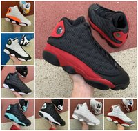 13 جزيرة محظوظ الأخضر رجل كرة السلة أحذية أحمر فلينت بلور فانتوم شيكاغو أحذية رياضية 13 ثانية ملعب retroes سبج هايبر الملكي Playoffs الرجال الأحذية الرياضية