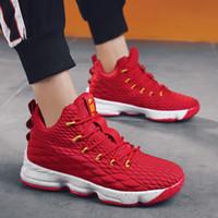 AN6969 Toptan Mans Basketbol Ayakkabı Kaliteli Erkekler Satılık Spor ayakkabı Deri Erkek Basketbollar Ayakkabı