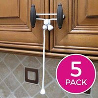 Carriers, Slings & Backpacks 1 Pcs Kiscords Baby Safety Cabinet Locks Child Latches For Home Strap Proofing Cabinets Kitchen Door