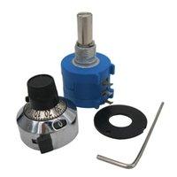 Control de la casa inteligente 1pcs 10k ohm 3590s-2-103l Potenciómetro multitiro de precisión 10 Anillo Resistor Ajustable Resistencias Enciende la perilla rotativa Dial