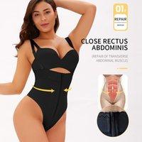 Corpo shaper mulheres emagrecimento sexy thong shapewear bodysuit cintura zip controle apertado underwear espartilho completo lingerie lingerie 6xl mulheres mulheres