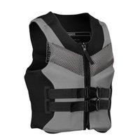 Life Vest & Buoy 2021 Adult Jacket Jackets Men Women Fishing L-XXXXL Ski Drifting With Whistle Prevention