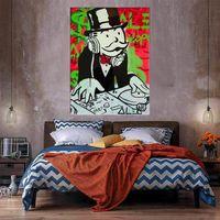 DJ Огромная живопись маслом на холсте Home Decor Greatcarafts / HD Print Wall Art Picture Chationation приемлема 21052037
