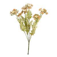 Flores decorativas guirnaldas pequeña margarita salvaje fresco con hierba planta artificial crisantemo plástico plástico jardín boda fiesta casero chris
