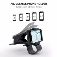 Cell Phone Mounts & Holders Car Holder 3-6 Inch GPS Navigation Dashboard In The For Universal Mobile Clip Mount Stand Bracket