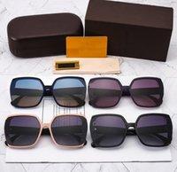 جودة عالية الاستقطاب النظارات الشمسية المتضخم uv برهان للجنسين الصيف إلكتروني الفاخرة العلامة التجارية إطار كبير مربع النظارات في الهواء الطلق الشمس