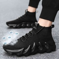 Hiking shoes Men Fashion Summer Mesh Sneaker Male trainers Running Designer Sport Shoes 2021 Lace Up casual Slippers 0909