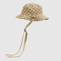Mens Multicolour Reversible Canvas Designer Bucket Chapéu com Strap Moda Designers Chapéus Chapéus Mulheres Verão Bonnet Beanie Casquette