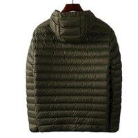 Topstoney 2020 Konng Gonng 가을과 겨울 새로운 트렌드 재킷 패션 브랜드 후드 다운 재킷 경량 하얀 오리 아래로