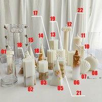 Diy سيليكون جميع أنواع الأشكال العفن شمعة العفن أدوات ديي أدوات الخبز 7 ألوان قالب المطبخ أنماط مختلفة fwe9398