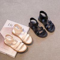 Sandals Girls' Roman 2021 Summer Cuhk Children's Korean Leisure Beach Soft Soles Girl's Slipper Shoes For