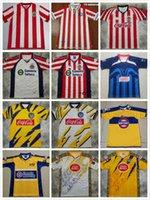 Taglia S-XXL Liga MX Retro club America America Soccer Jerseys Mexico Tijuana Tigres Unam Chivas Guadalajara Camicie da calcio