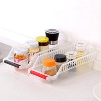 Bouteilles de stockage JARS Yiwumart Réfrigérateur Boîte à tiroirs en plastique Critère à frigo Critère Food-Garderie Classé Conteneur Panier