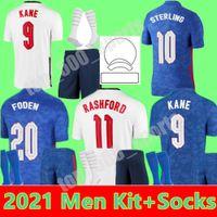 2021 FODEN KANE ÉQUIPE NATIONALE SOCKERY JERSEYS HOMNES KITS KITS STERLING STERLING RASHFORD 21 22 Accueil Camisetas de football Shirts de football