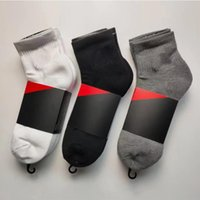 Chaussettes masculines classiques noir et blanc gris trois couleurs basketball courir sport respirant pur coton de sport chaussette chaussette bascule stockage d'une taille unique
