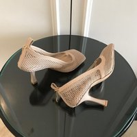 Sandalet Moda Lüks Tasarımcı Kadın Ayakkabı Yüksek Topuklu Kare Ayak Elbise Mesh ve Berry Buzağı Kadın Seksi Zincir Sandal Schuhe Streç