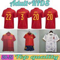 Взрослые и дети 2021 Испания Футбол Джетки Ramos Thiago 20 21 Национальная команда Диего Коста Родри Мужчины + Детская футболка CamiSetas de Fúbo