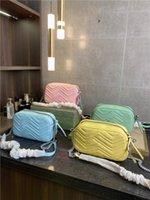 2021 MAIS Luxurys Designers Bag Top Quality Handbags Mulheres Carro Costura Mensageiro Sacos Premium Classic Wallet Bolsa Crossbody Bagswomen