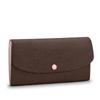 Кошельки женские кошельки молния сумка женский кошелек 9 цветов держатель моды держатель карманные длинные женщины сумки с коробкой мешковых мешков дизайнерский кошелек