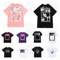 Yaz Bayan Erkek Tasarımcılar T Shirt Gevşek Tees Moda Markaları Tops Adam S Casual Gömlek Luxurys Giyim Sokak Şort Kol Giysileri Tişörtleri 2021