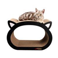 Katze Kopfkatze Scratcher Fat Bett Karton Papier Hohe Qualität Spielzeug ZD Spielzeug