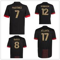 21-22 Atlanta United FC Almirón 10 Martinez 7 Nagbe 6 Barco 8 Villalba Personnalisé Thai Quality Sports Sports Sports, Magasins de Shopping en ligne
