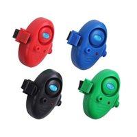 붐 낚시 e02 물린 알람 낚시 신호 세분자 잉어 물고기 표시기 LED / 사운드 배터리 포함 4 세트 1556 Z2