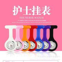 Silikonschwesteruhr-Pin-hängende Uhr-Tasche kann weiblich