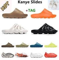 """adidas yeezy yeezys yezzy yezzys boost kanye espuma corredor west homens mulheres corredores sandália chinelos sandálias enlame laranja plataforma óssea mens"