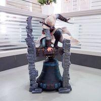 28cm Anime Figure Assassins Creed Figure Altair The Legendary Bayek Aya Apfel von Eden Action Figure Sammeln Modell Spielzeug x0503