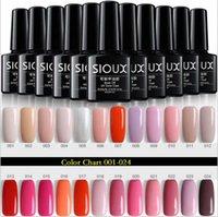 Kits d'art de ongles 8ml DIY Couleur Gel Gel Polonais 6 couleurs Séfectes Soak Off UV LED Vernis DIYNAIL Manucure