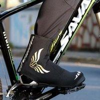 Велоспорт обувь Обувь охватывает унисекс водонепроницаемый ветрозащитный открытый велосипед на свежем воздухе, отражающе катание на спортивных спортах