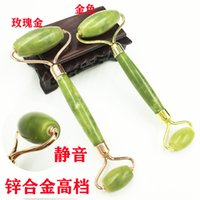 Skin Lift Pratical Jade Facial Massage Roller Anti Wrinkle Healthy Face Body Head Foot Nature Beauty Tools without box