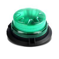 신호등 bogrand 9-28V 미니 LED 녹색 회전 스트로브 경고 비콘 자성 기지와 긴급 SOS
