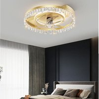 Ceiling Fans Modern LED Fan With Lights Nordic Low Profile For Dining Living Room Bedroom Children's Lamp